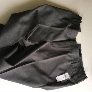 GAP Pants - New Gap Women Gray trousers size 9 long